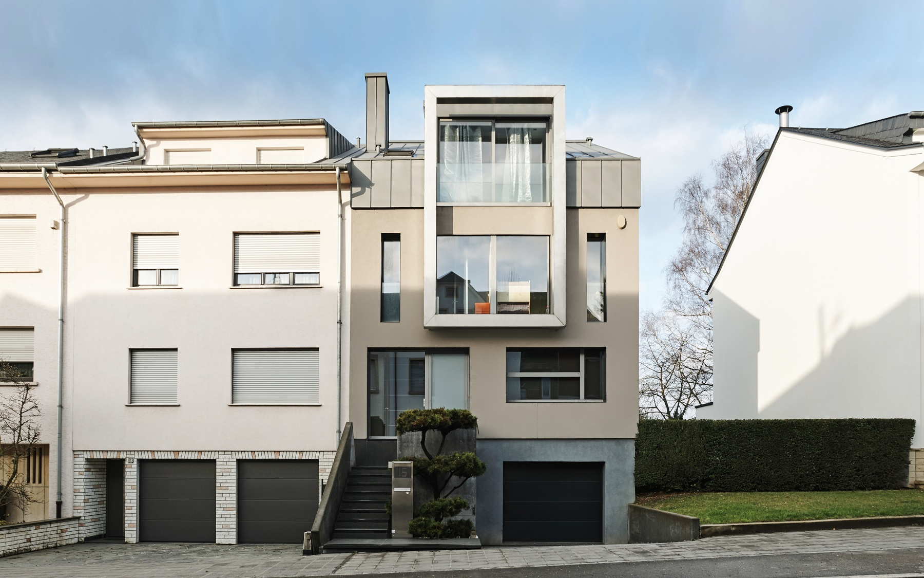 Modern house in Luxembourg-Belair