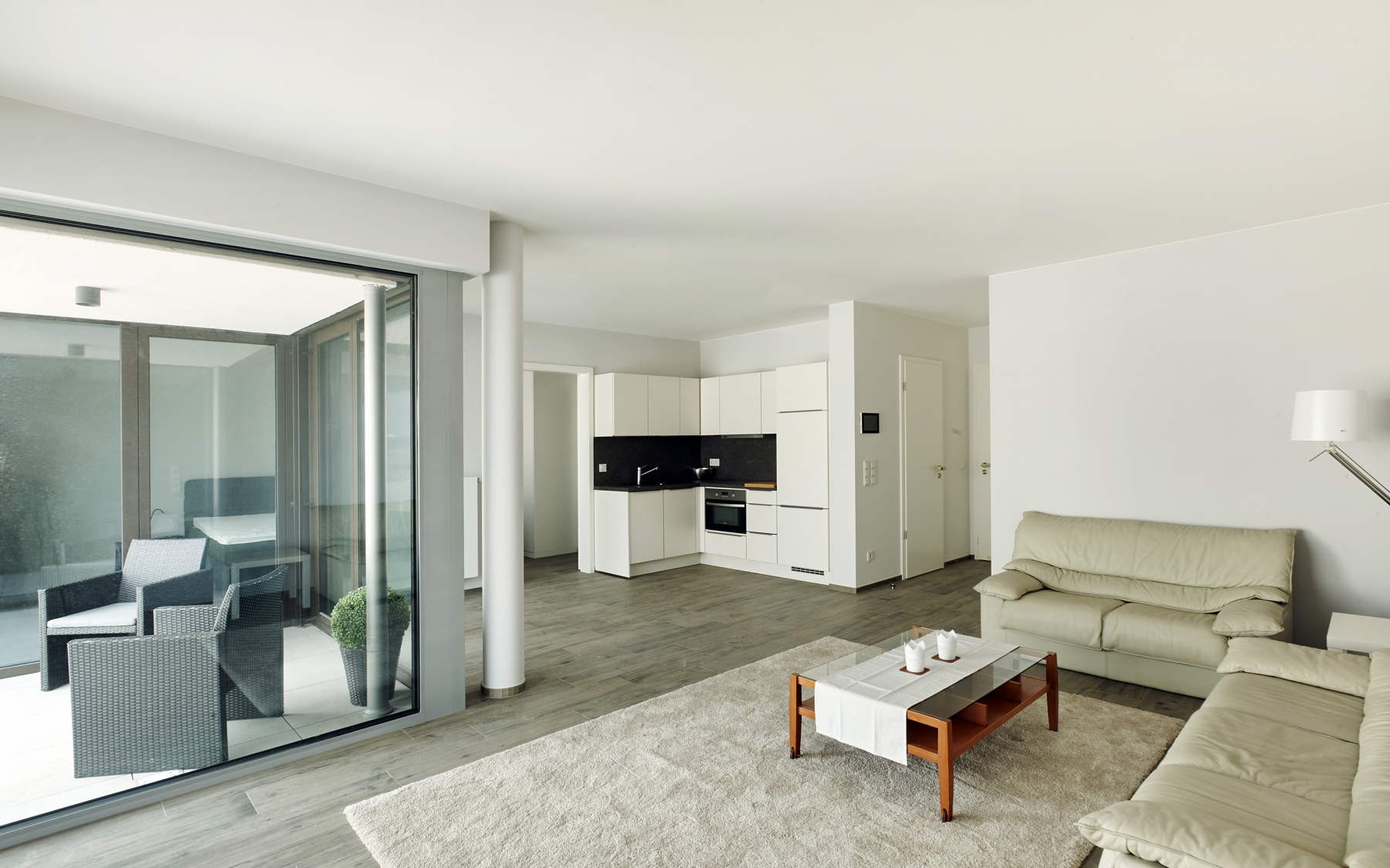Appartement meublé à Luxembourg-Gasperich