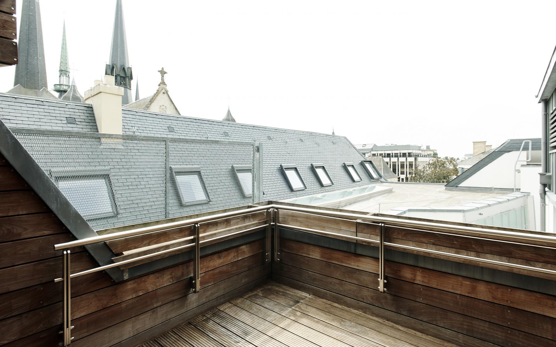 Penthouse duplex à Luxembourg-ville