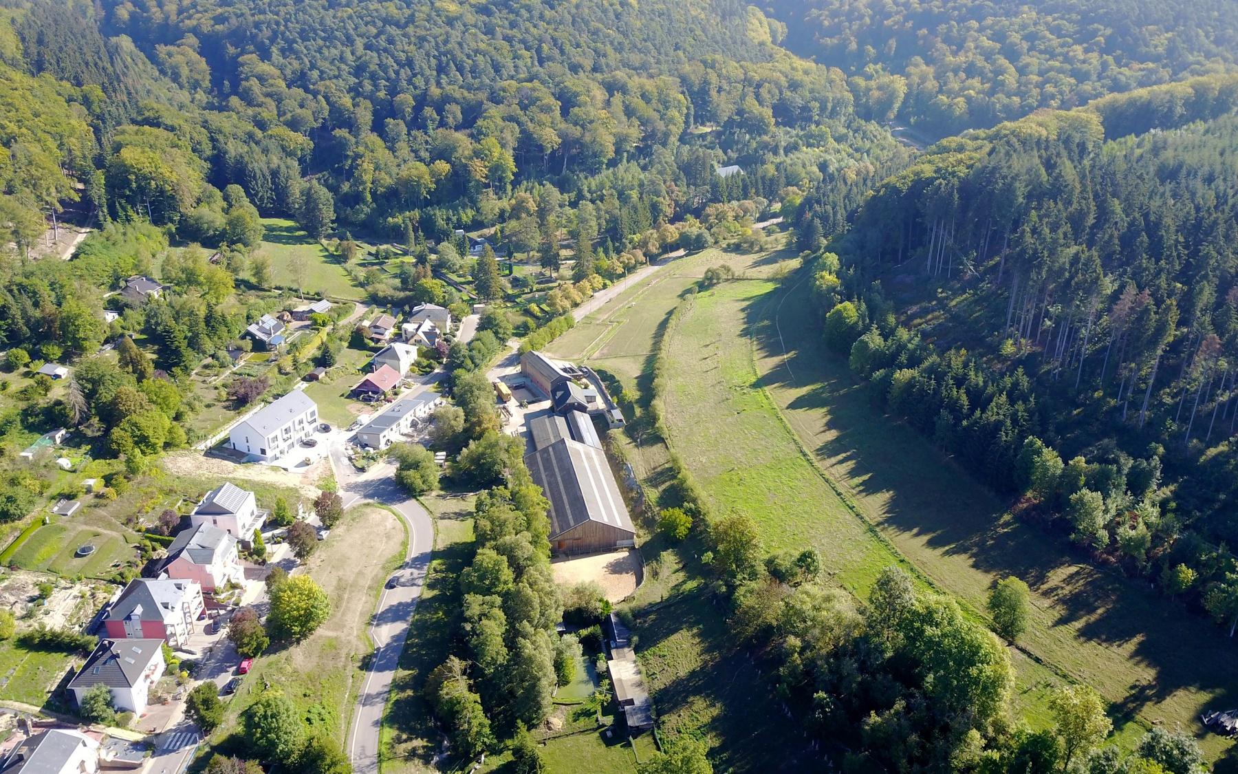 Domaine équestre privé à Lintgen