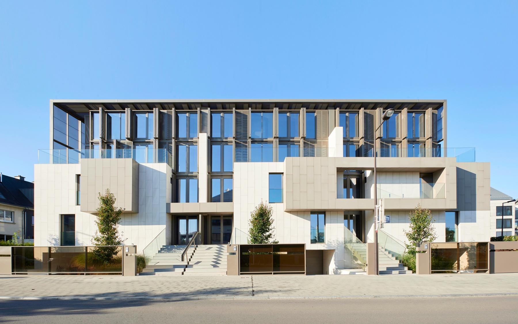 Maison de ville neuve à Luxembourg-Belair