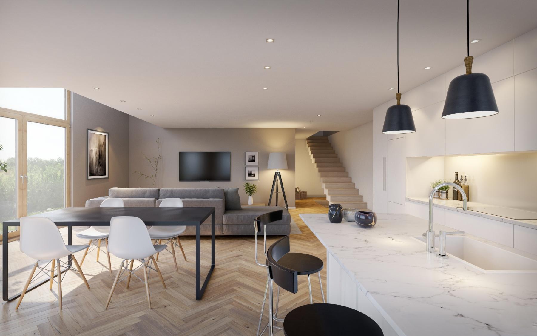 Maison neuve à Luxembourg-Bonnevoie