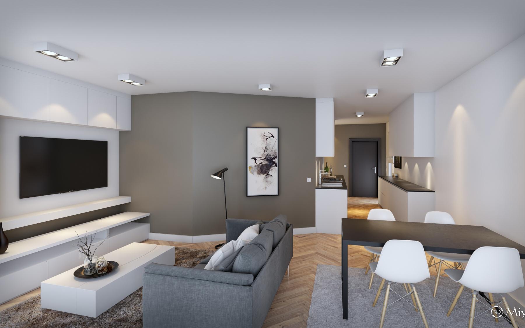 Appartement neuf à Luxembourg-Bonnevoie