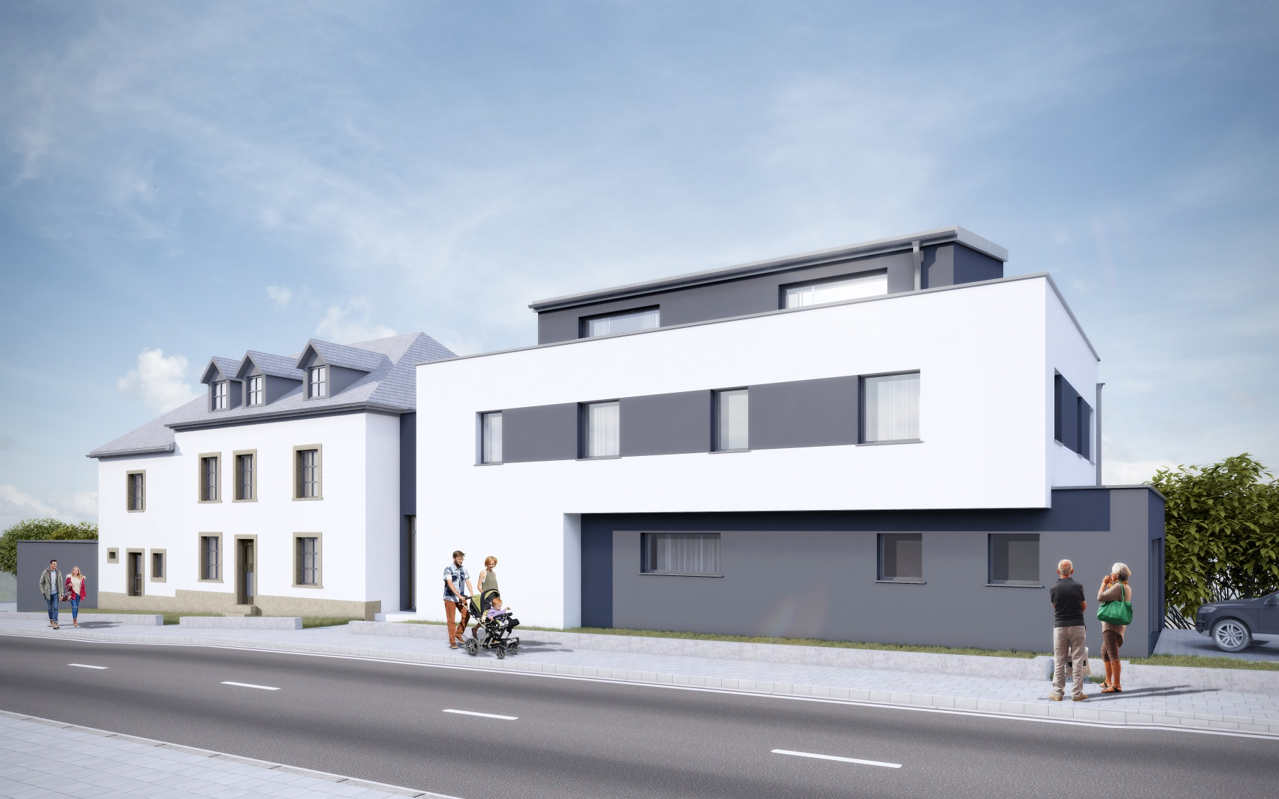 New duplex in Fennange