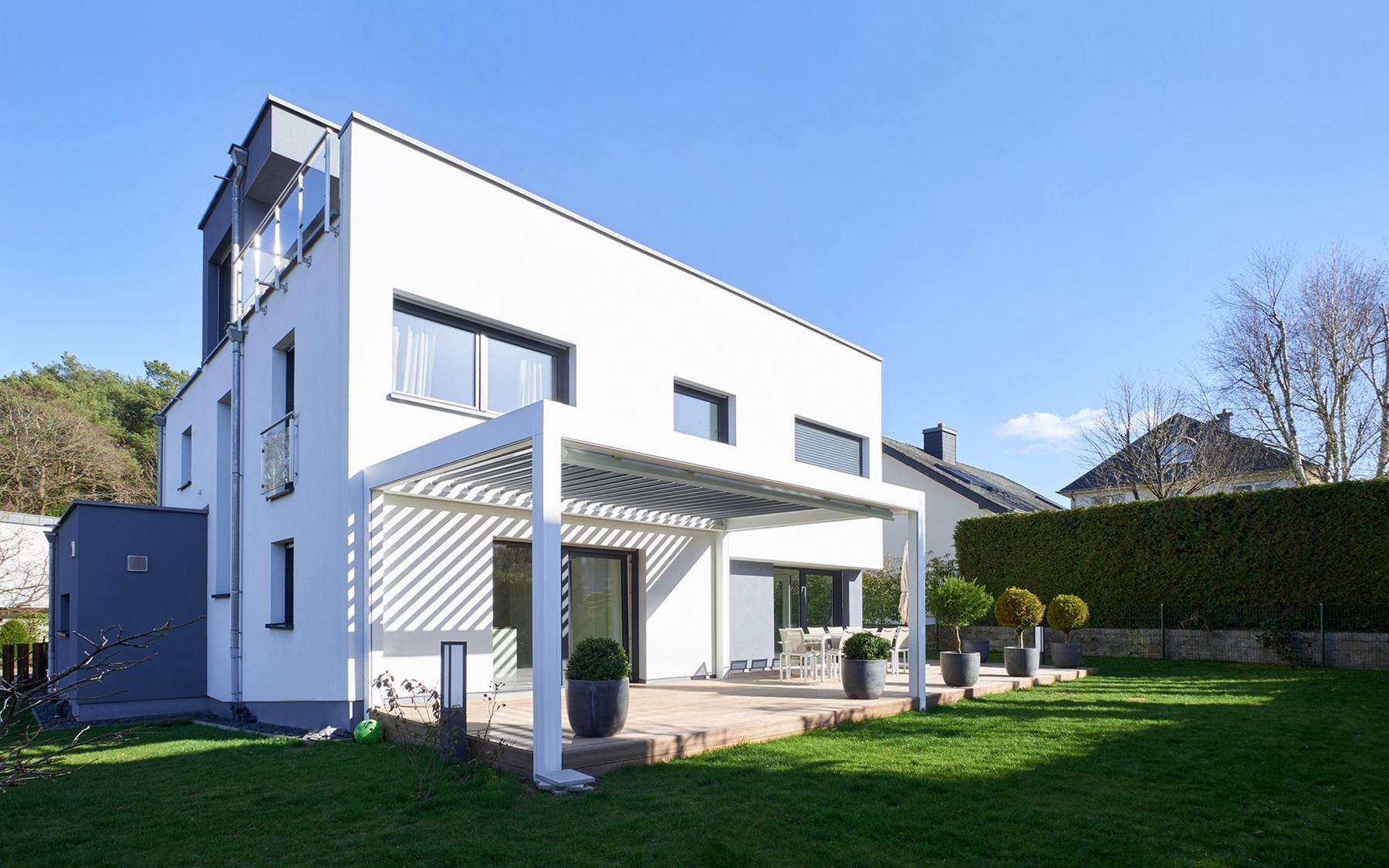 Maison moderne à Bridel