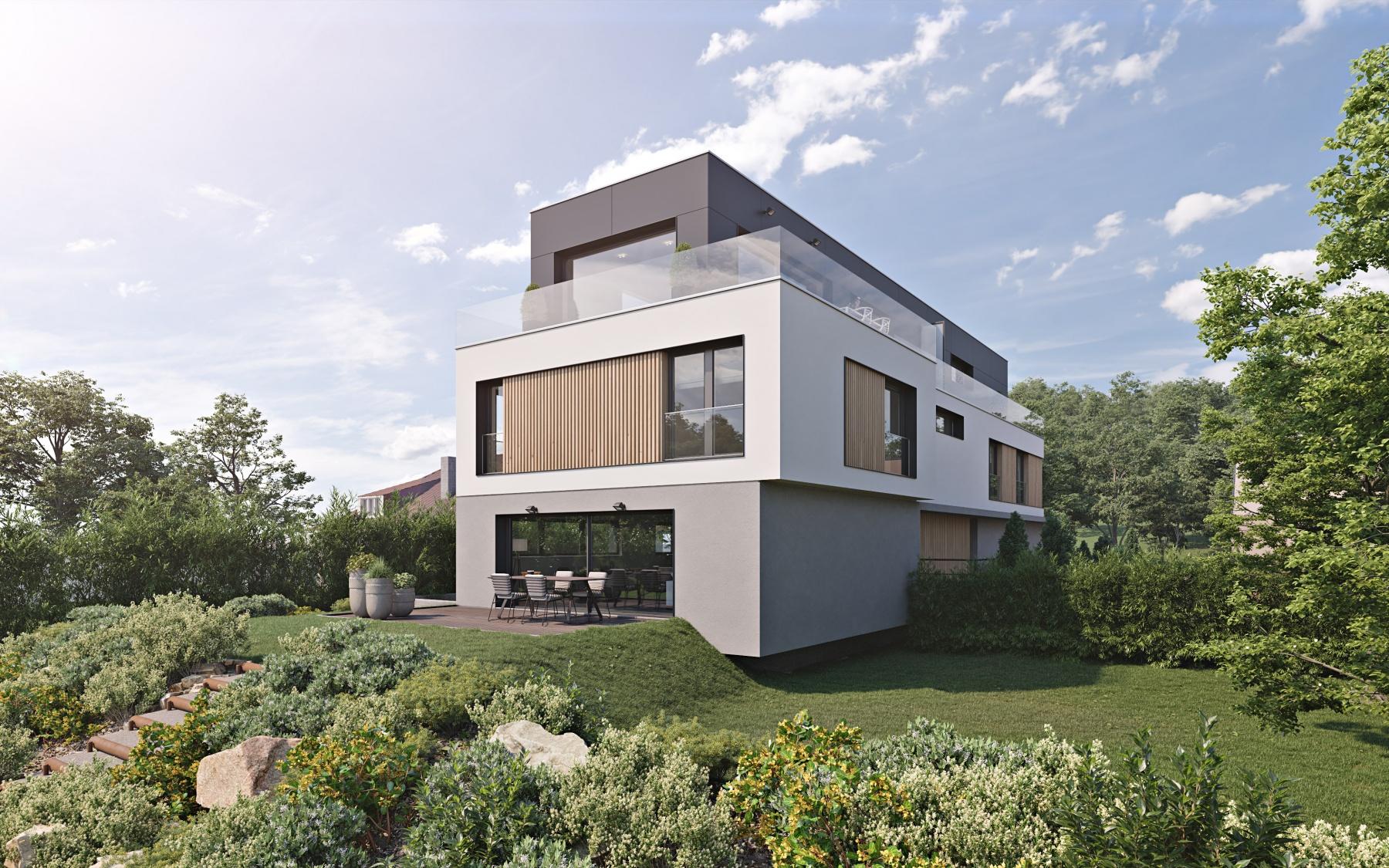 Duplex-penthouse neuf à Senningerberg
