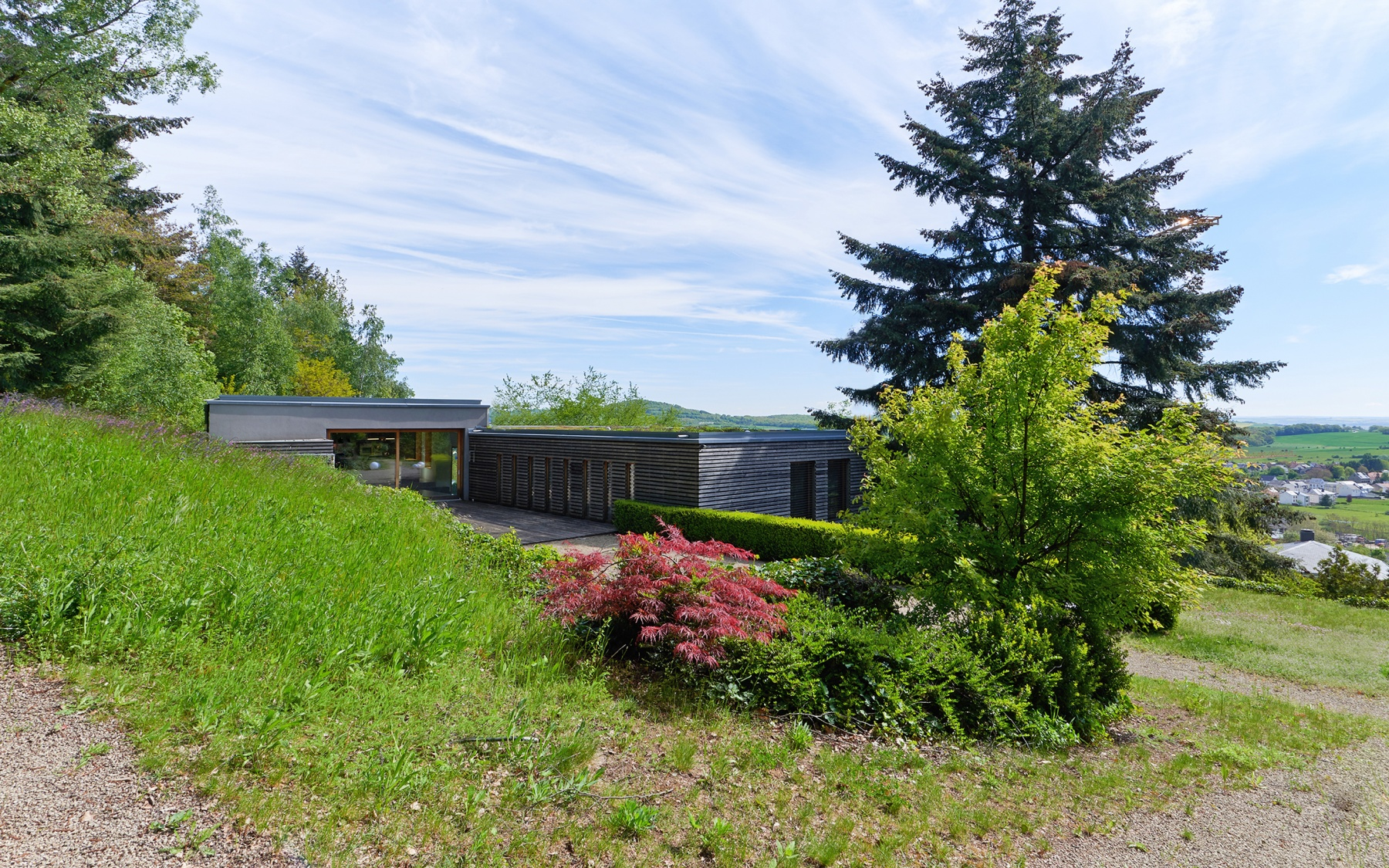 Villa d'architecte à Schuttrange