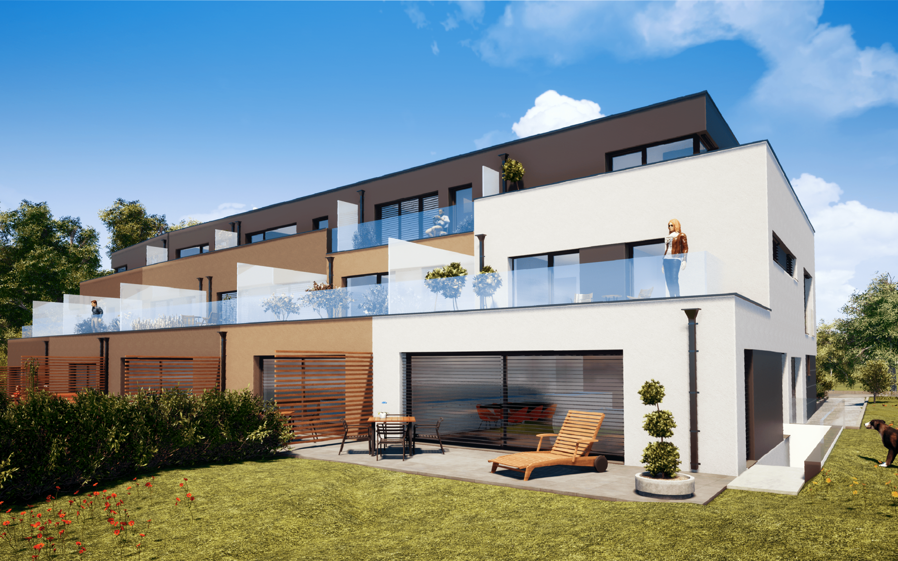 New houses in Luxembourg-Cessange