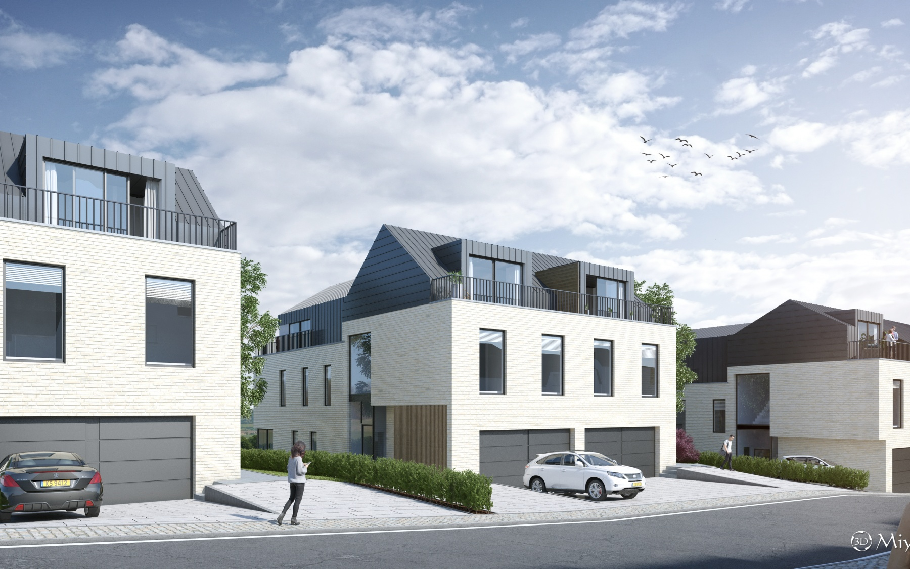 New duplex in Frisange