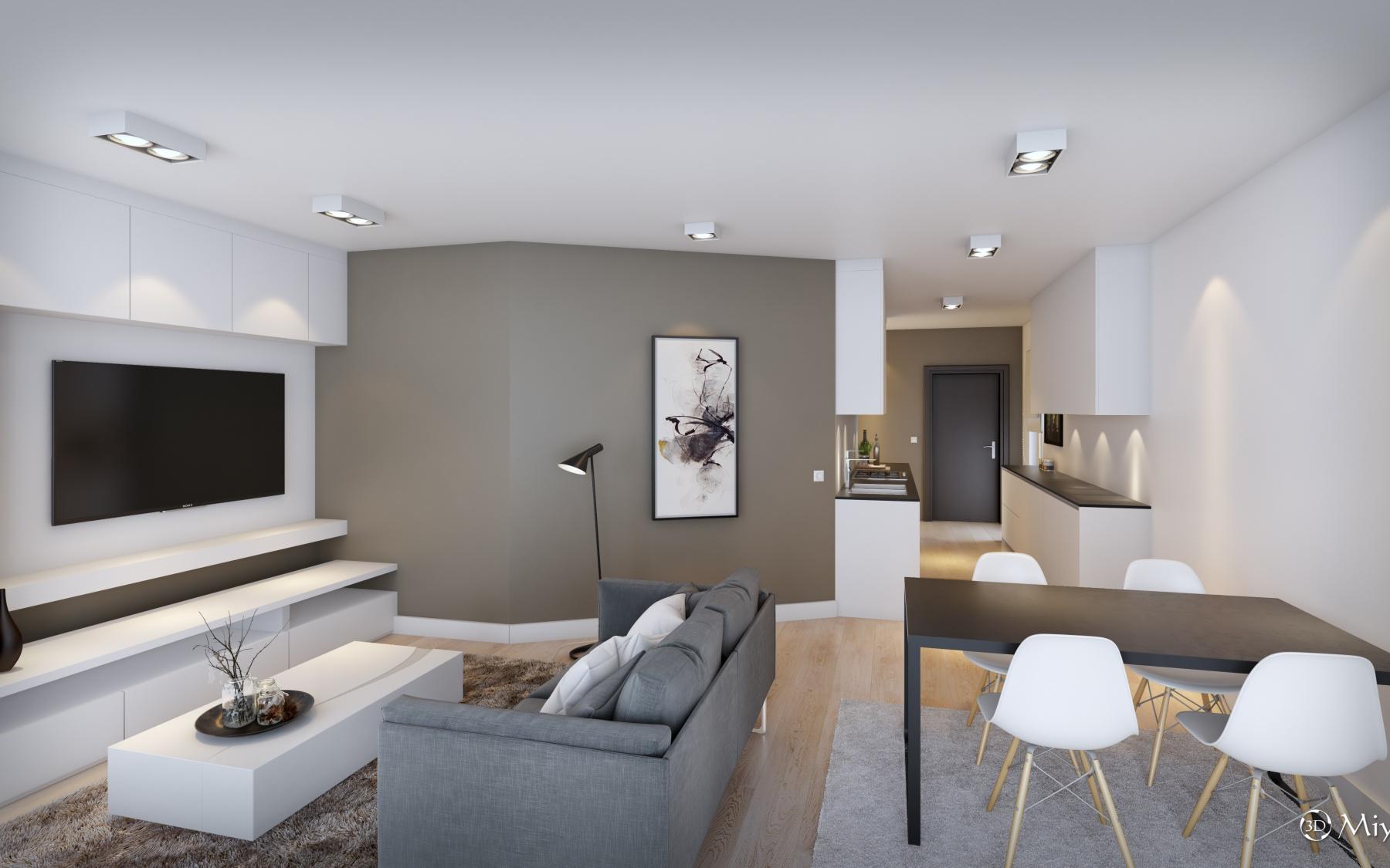 New duplex apartment in Luxembourg-Bonnevoie
