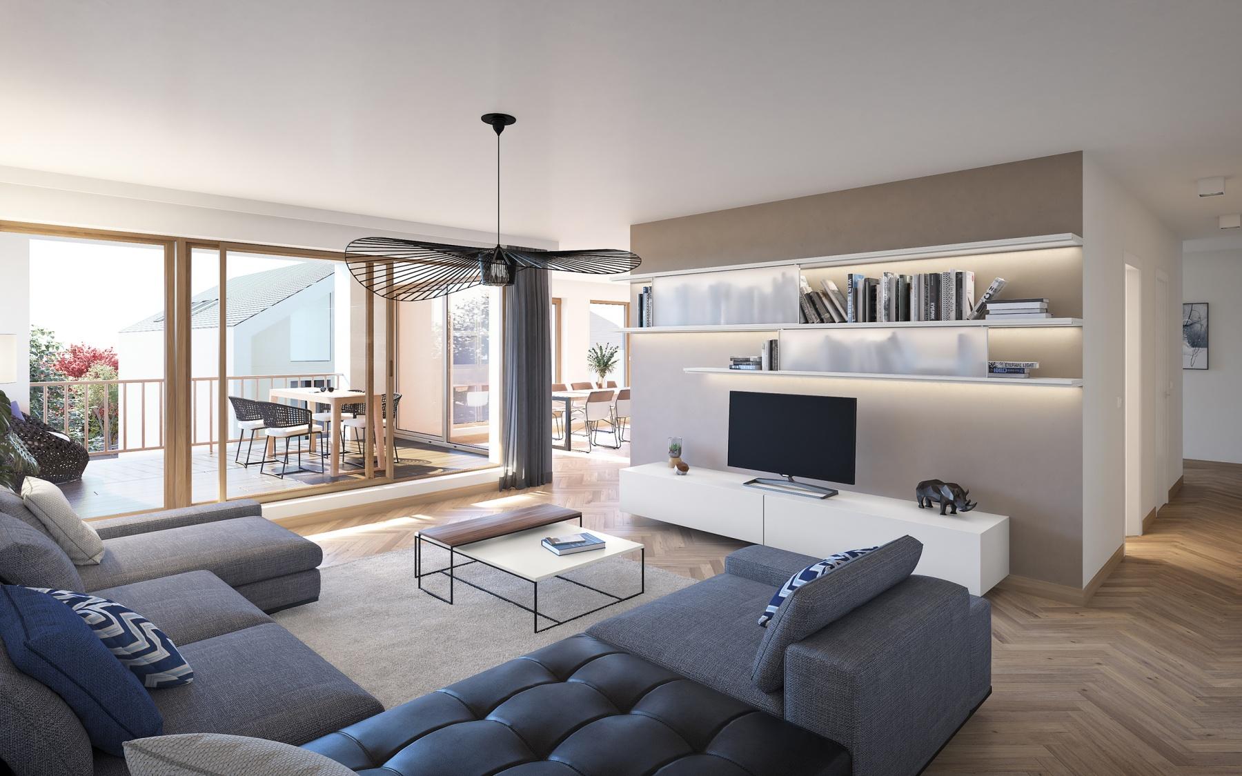 Appartement à Ahn