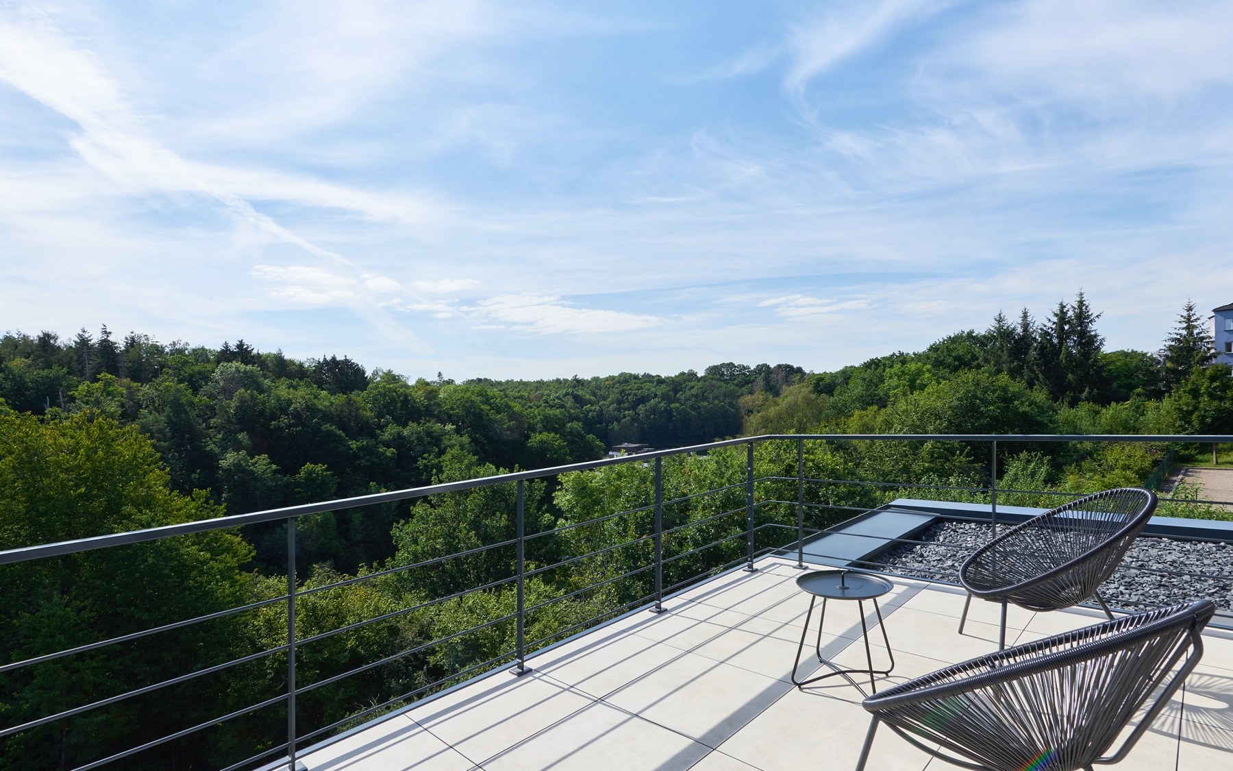Modern house in Luxembourg-Kirchberg