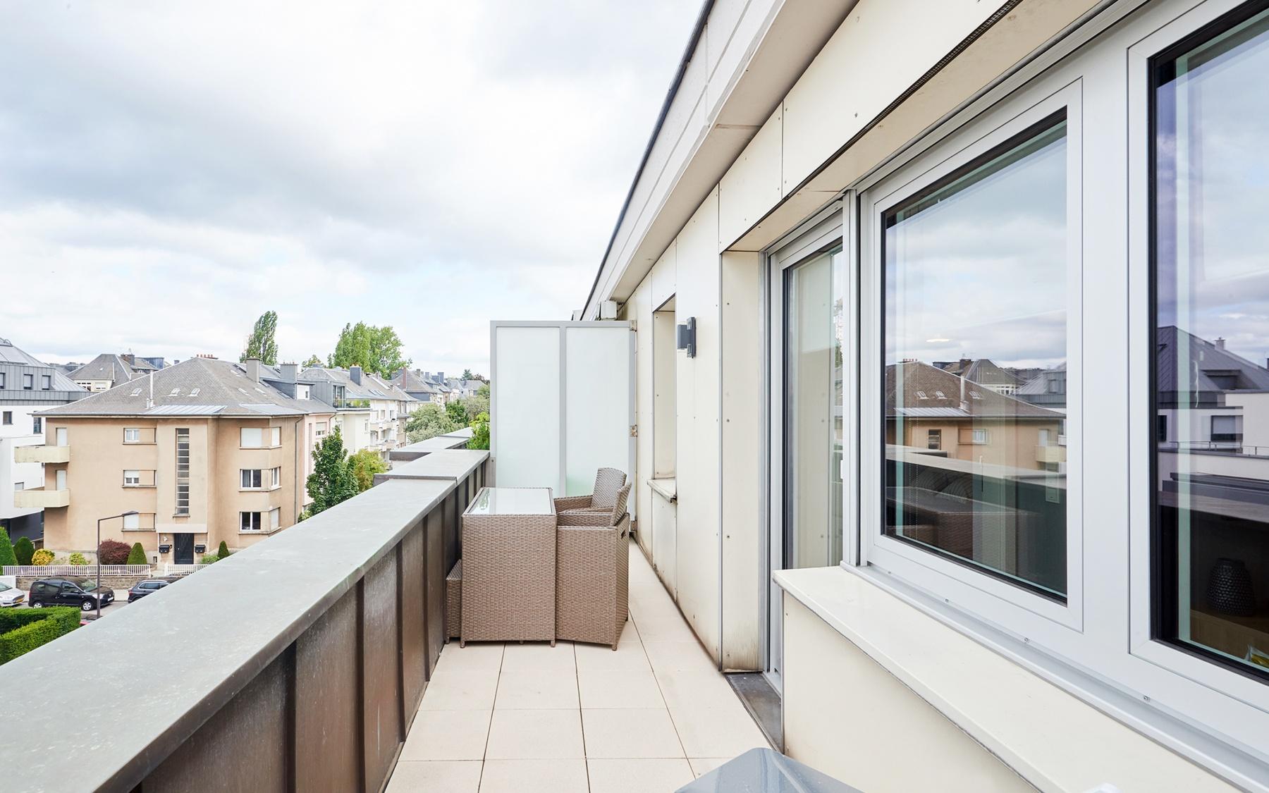 Appartement meublé à Luxembourg-Belair