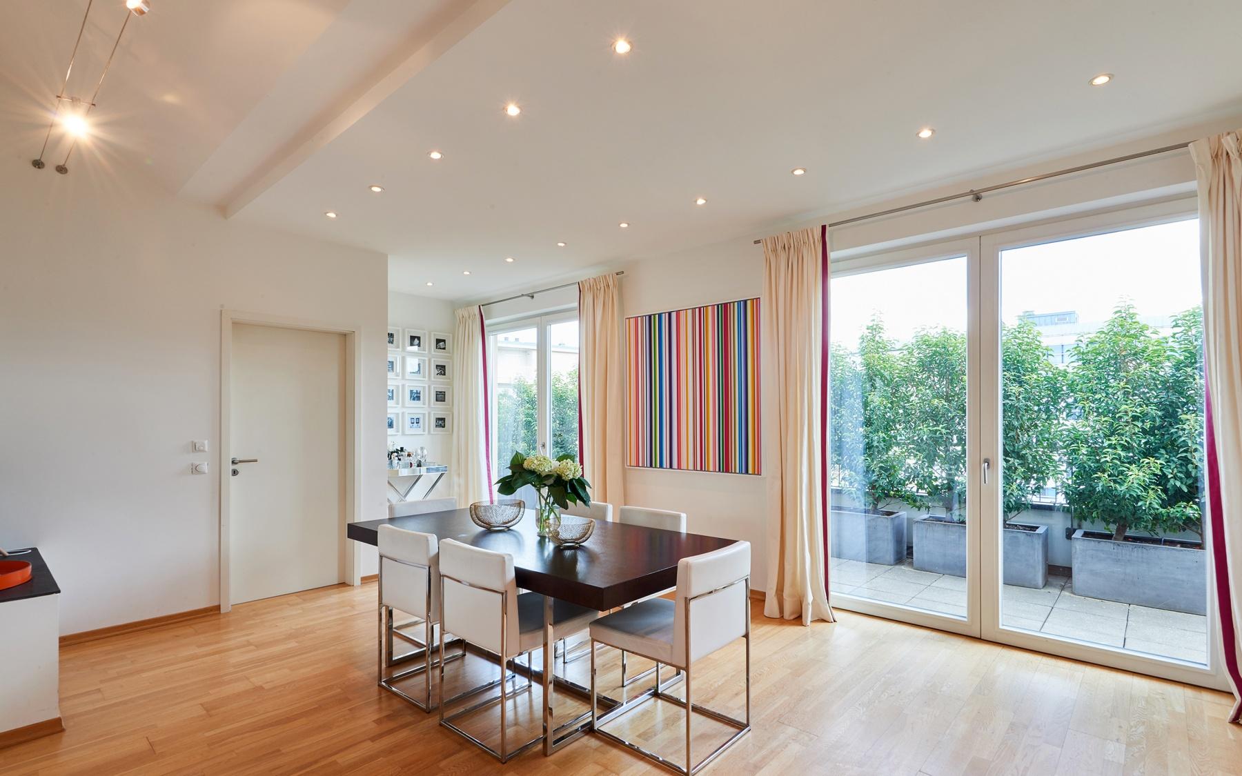 Penthouse duplex à Luxembourg-Gare