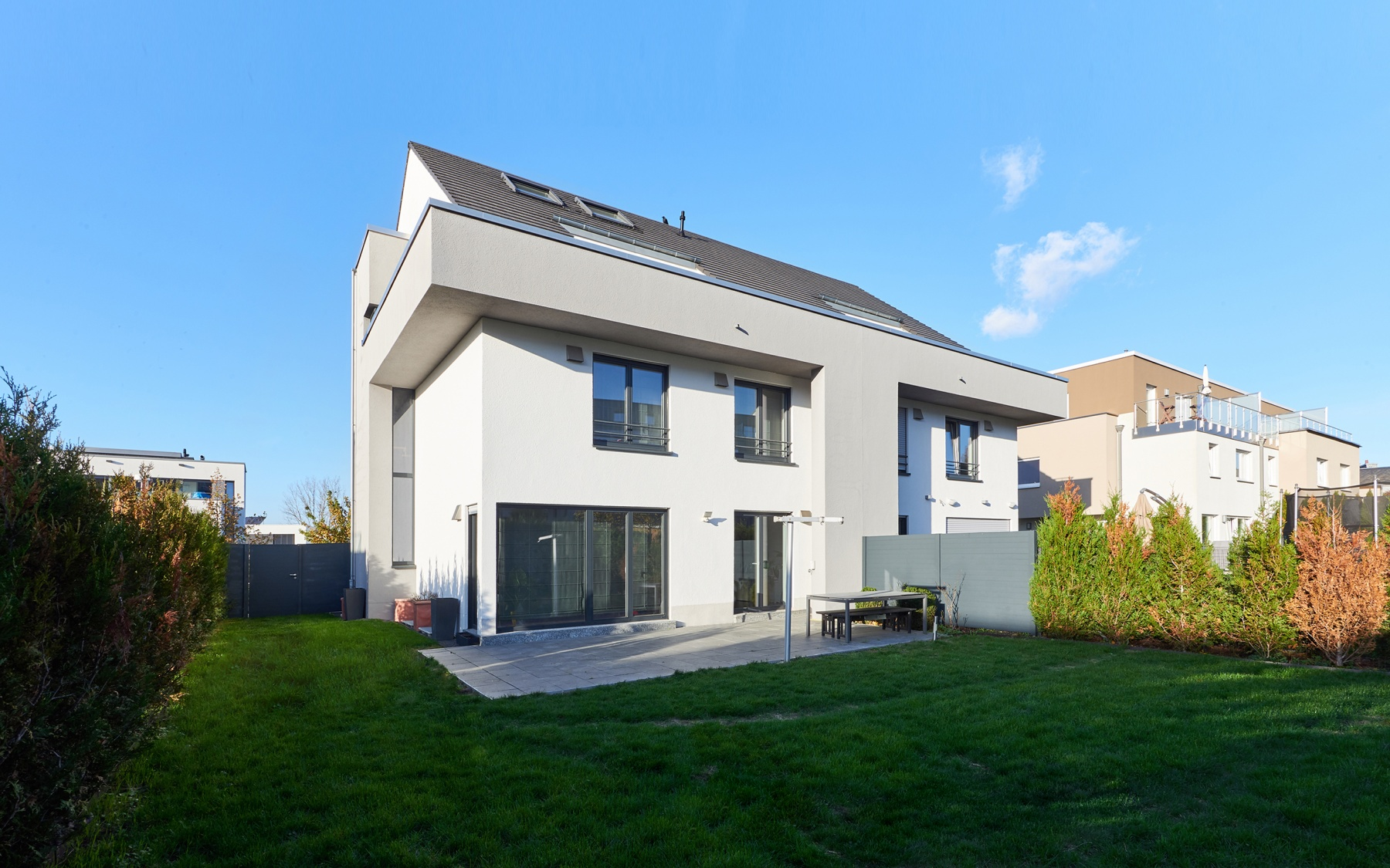 Modern house in Luxembourg-Cessange