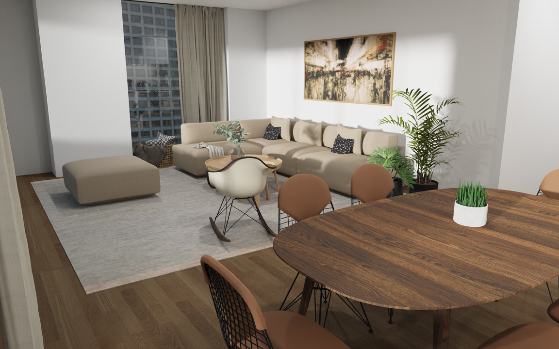 Appartement neuf à Luxembourg-Kirchberg