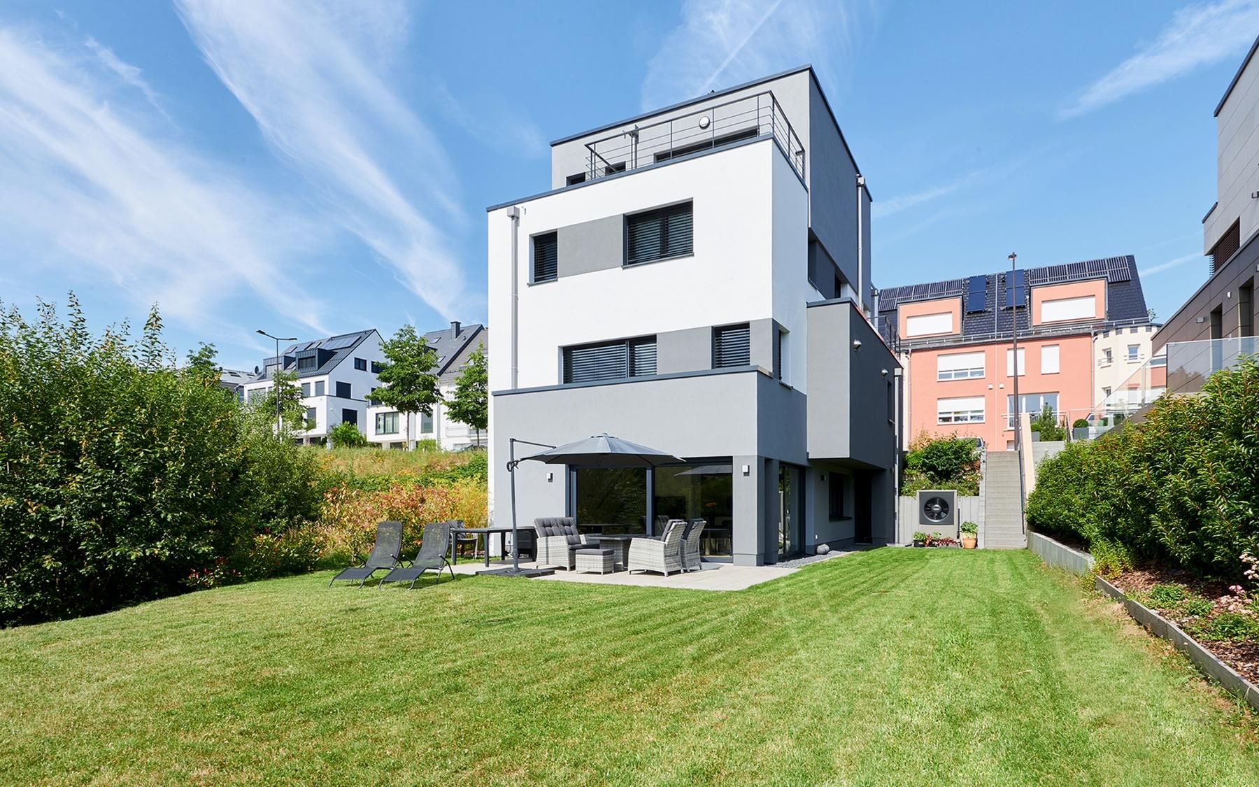 Maison moderne à Luxembourg-Kirchberg