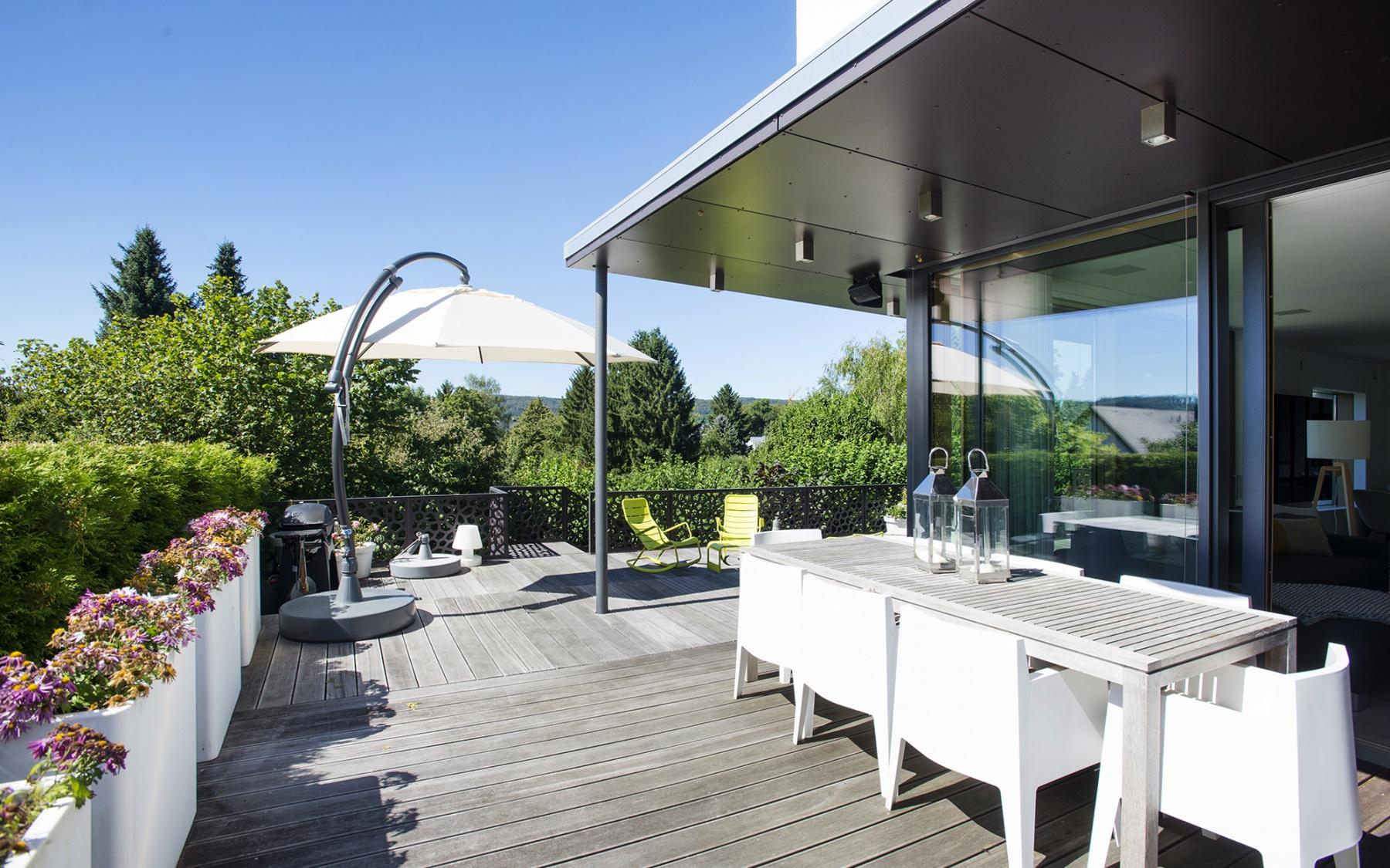 Maison moderne et écologique à Walferdange