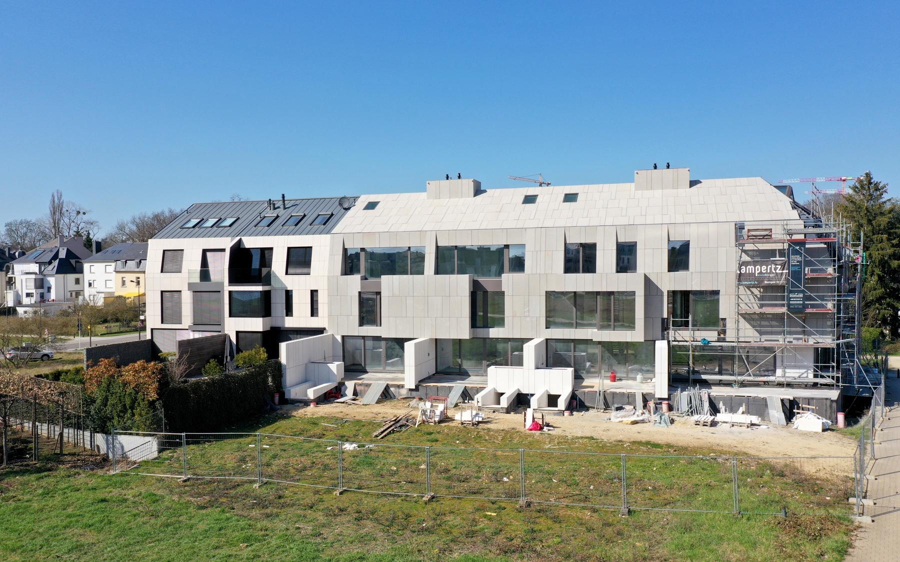 Maisons d'architecte neuves à Luxembourg-Belair