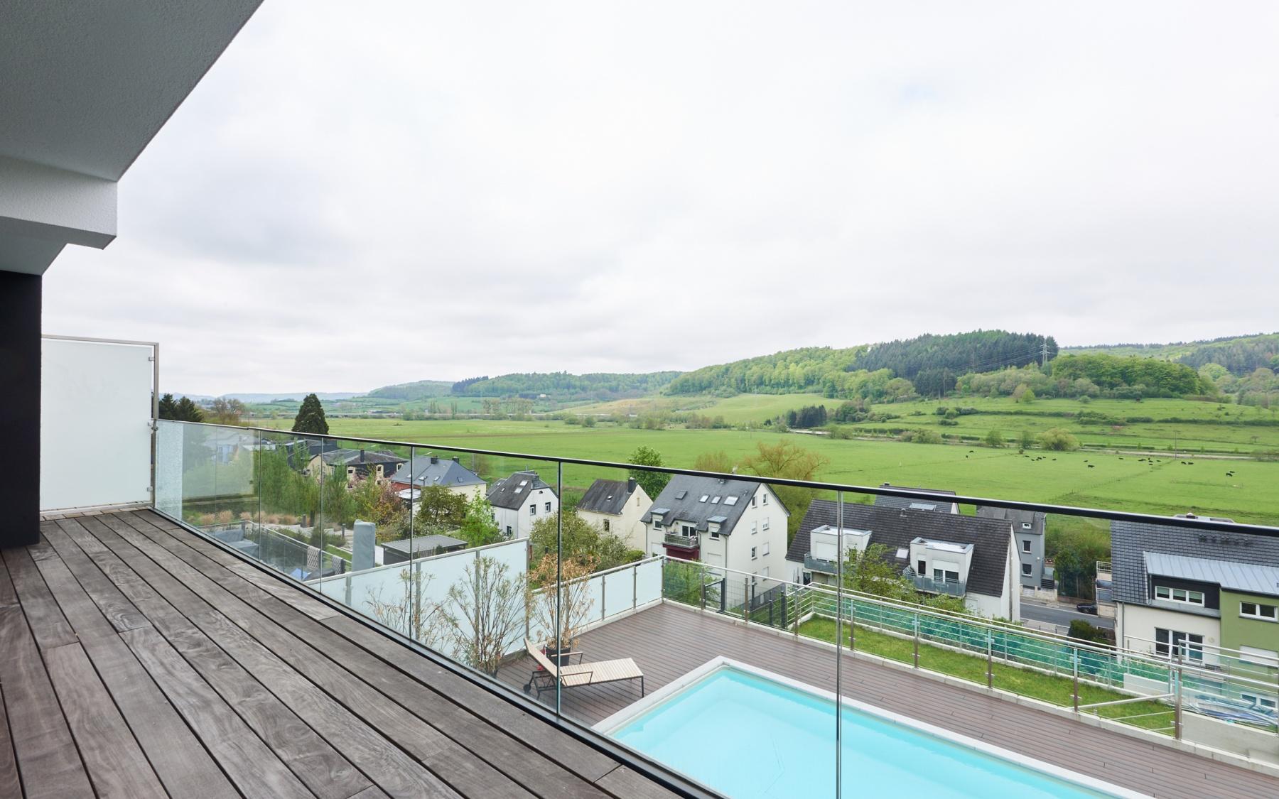 Maison moderne à Lintgen