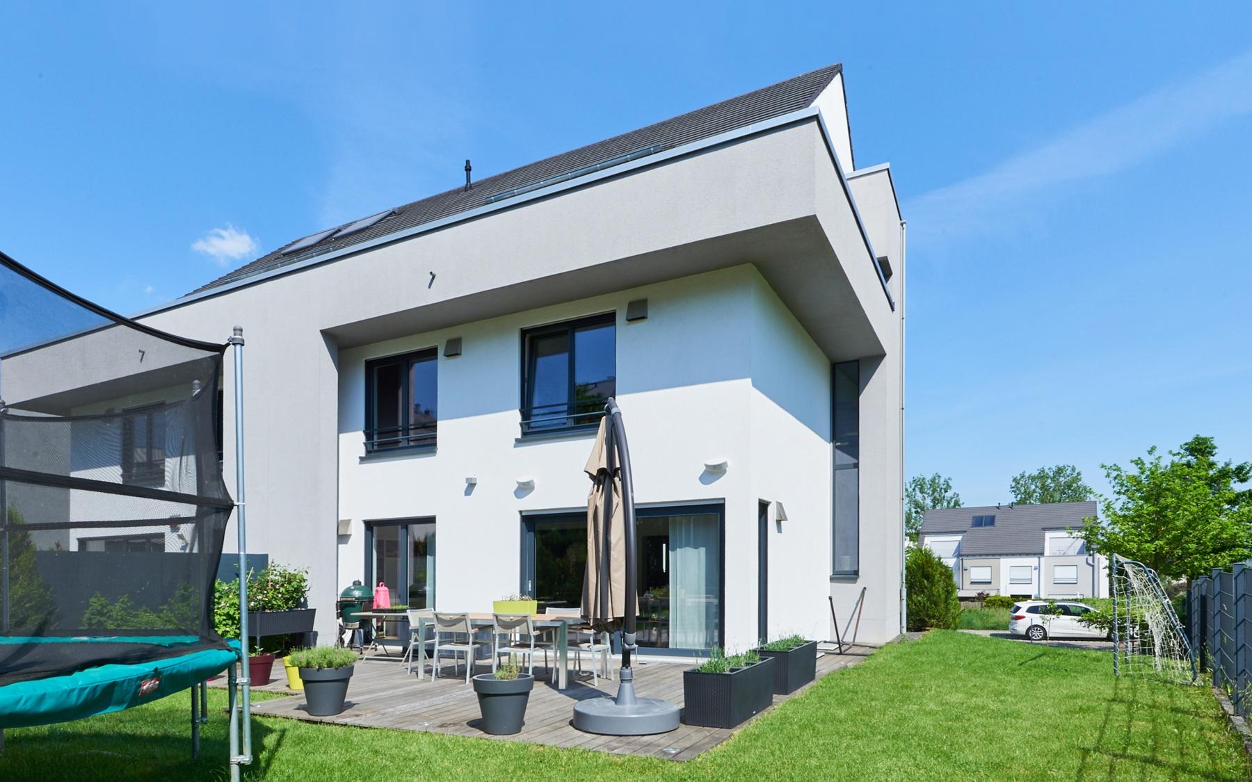 Maison moderne à Luxembourg-Cessange