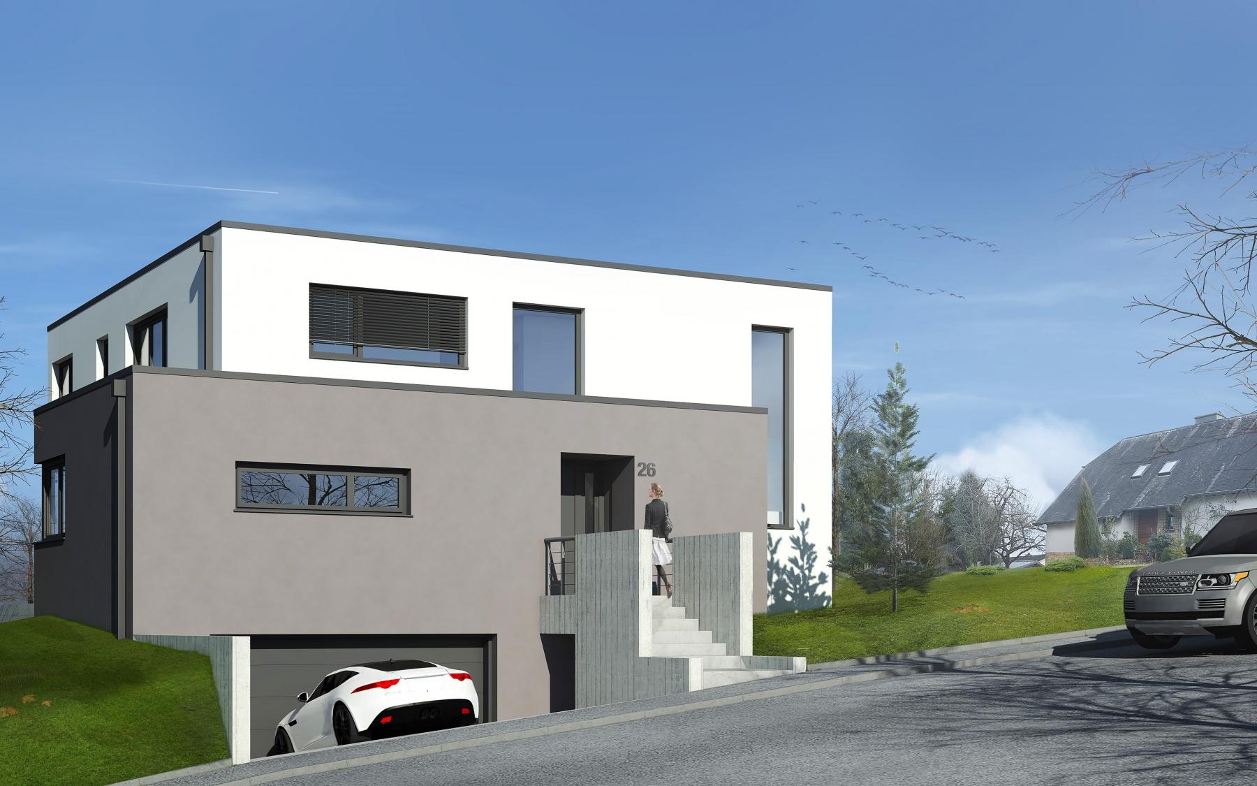 Villa à Bereldange