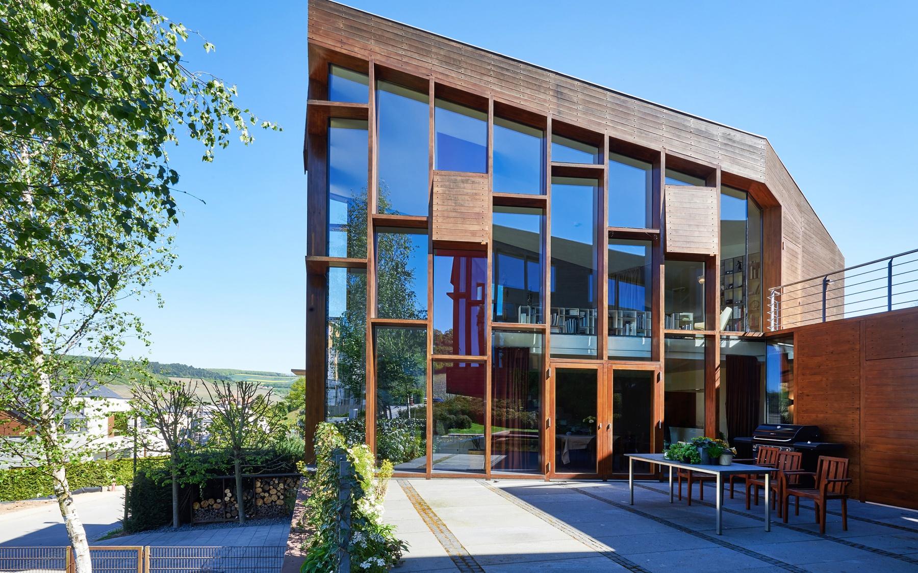 Maison d'architecte à Machtum
