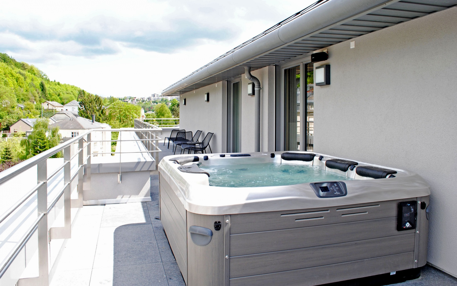 Penthouse à Luxembourg-Mühlenbach