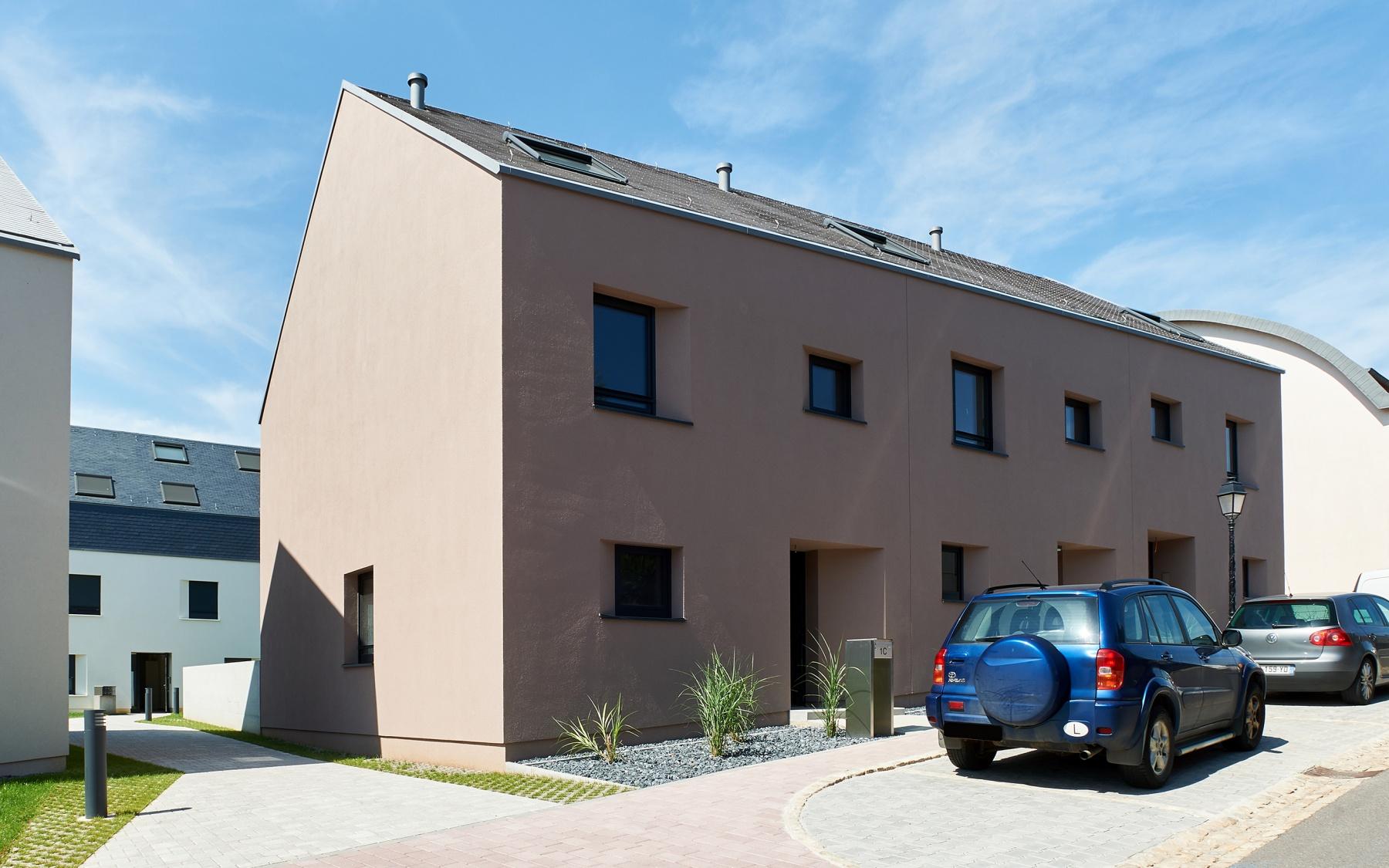 Maison jumelée neuve à Aspelt